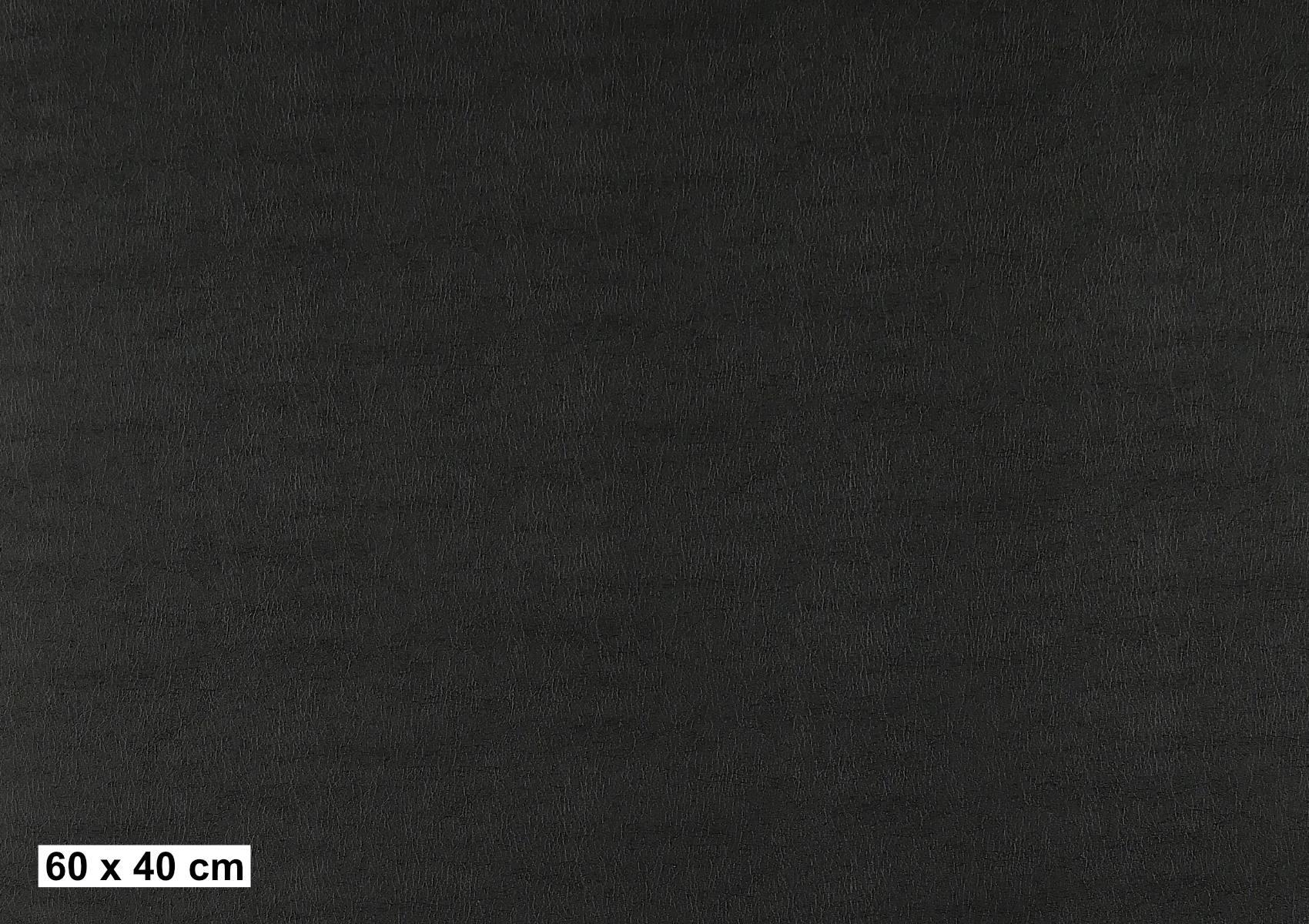 Leder schwarz L507