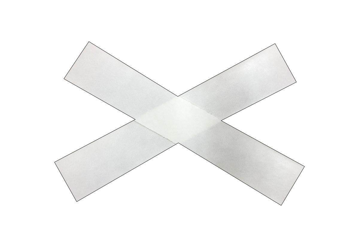 Teflon-Streifen transparent